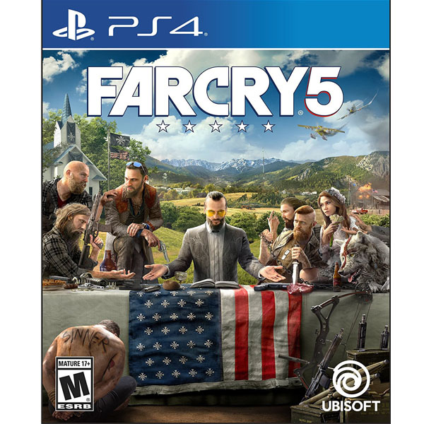 Far Cry 5 - PlayStation 4 Standard Edition (PS4) (RENT)