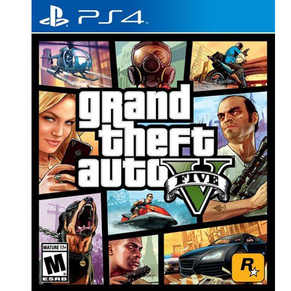 Grand Theft Auto V - PlayStation 4 (PS4) (RENT)