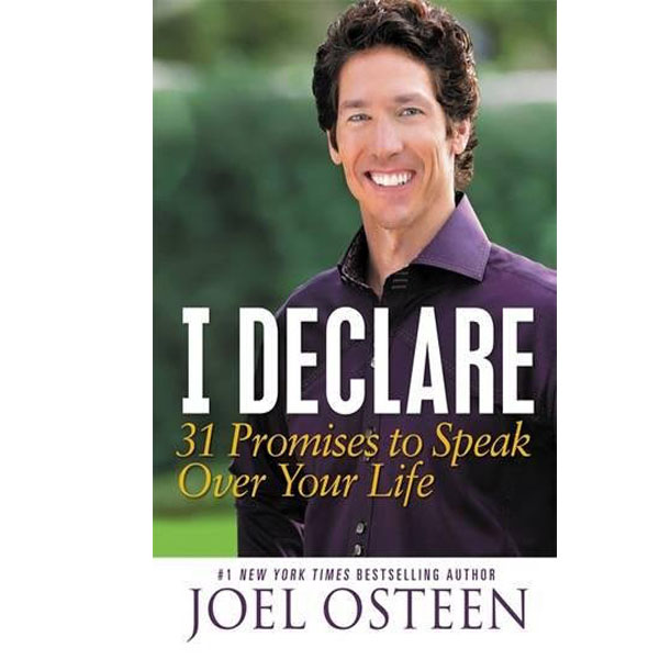 I Declare: 31 Promises to Speak Over Your Life (RENT)